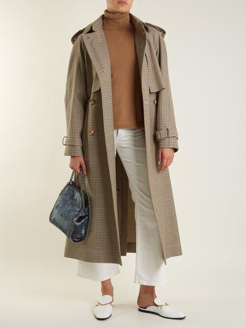 Buy Stella Mccartney bag online - photo of Falabella crushed-velvet mini cross-body bag