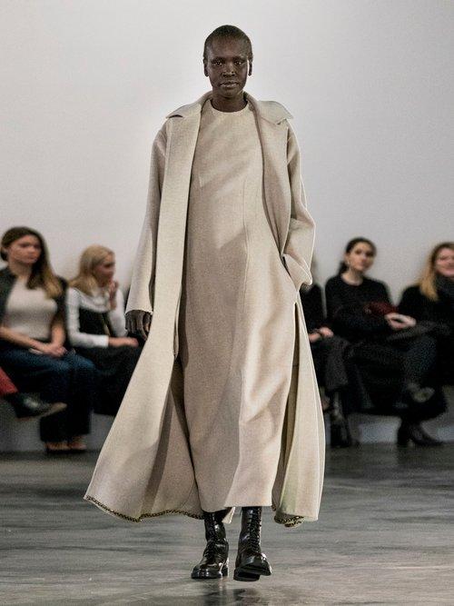 Bonec double-faced sleeveless maxi dress by The Row