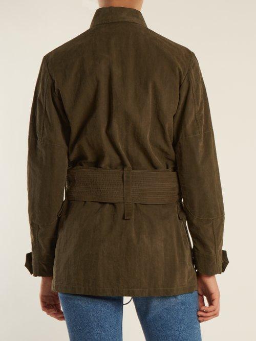 Logo-print cotton-blend jacket by Off-White