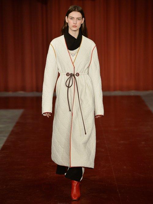 Tulla checked silk-crepe dress by Roksanda