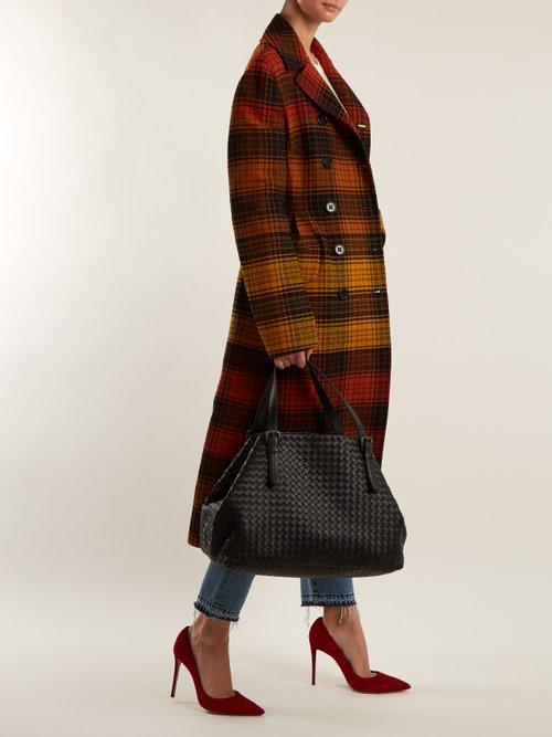 Intrecciato large leather tote by Bottega Veneta