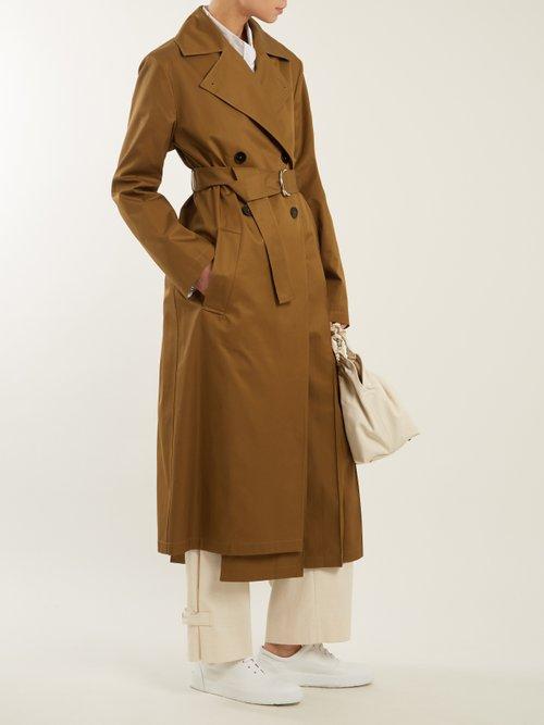 Esprit Cotton Trench Coat by Jil Sander