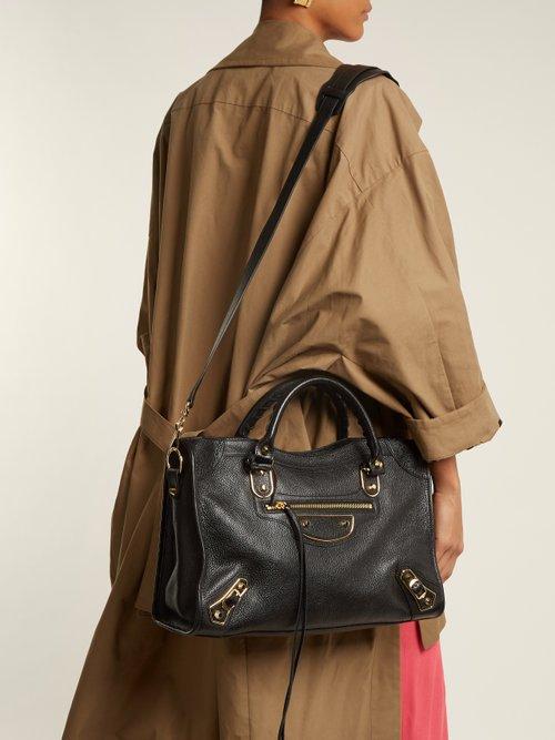 Metallic Edge City bag by Balenciaga