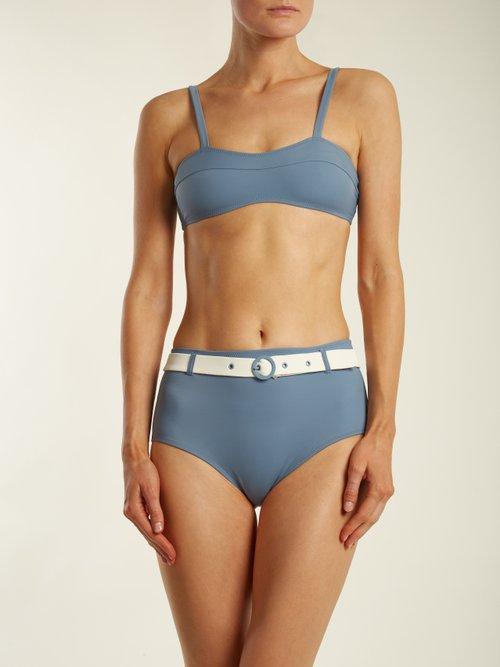 The Quinn waist-belt bikini briefs by Solid & Striped