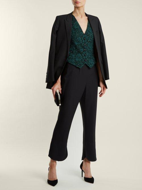 Cordonetto Lace Waistcoat by Dolce & Gabbana