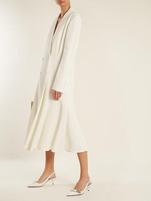 Walker stretch-cady dress by Gabriela Hearst