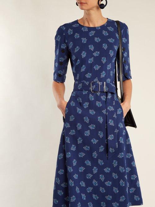 Elena floral-print crepe dress by Altuzarra
