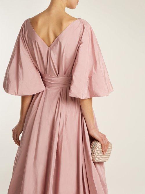 Leegan tie-waist taffeta gown by The Row