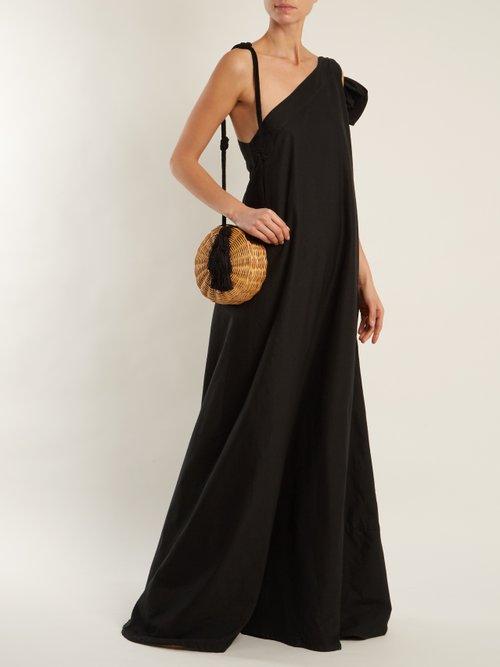Photo of Gemini One Shoulder Cotton Voile Maxi Dress by Sale - shop Sale online sales