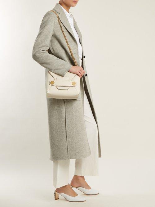 Photo of Popper small faux-leather cross-body bag by Stella Mccartney - shop Stella Mccartney handbags sales