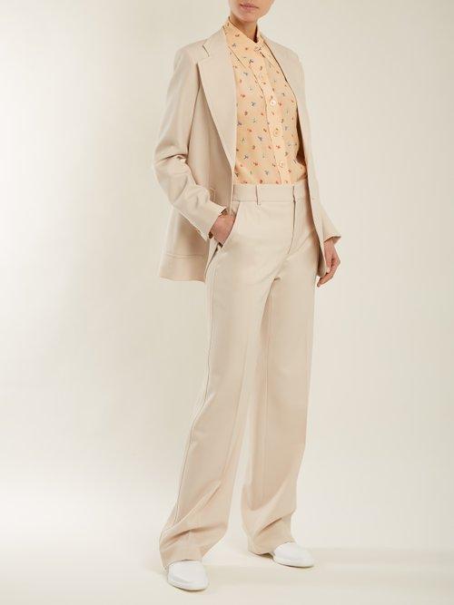 New Garcon floral-print silk shirt by Joseph