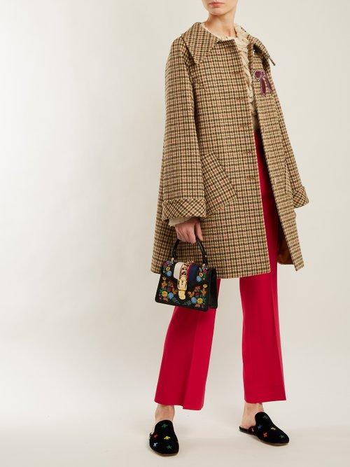 Kibi velvet slipper shoes by Gucci