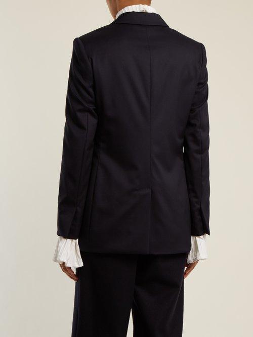 Peak-lapel wool jacket by Stella Mccartney