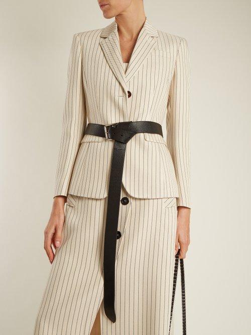 Fenice single-breasted pinstriped blazer by Altuzarra