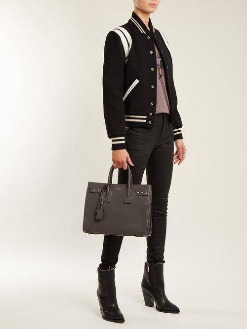 Sac De Jour small grained-leather tote by Saint Laurent