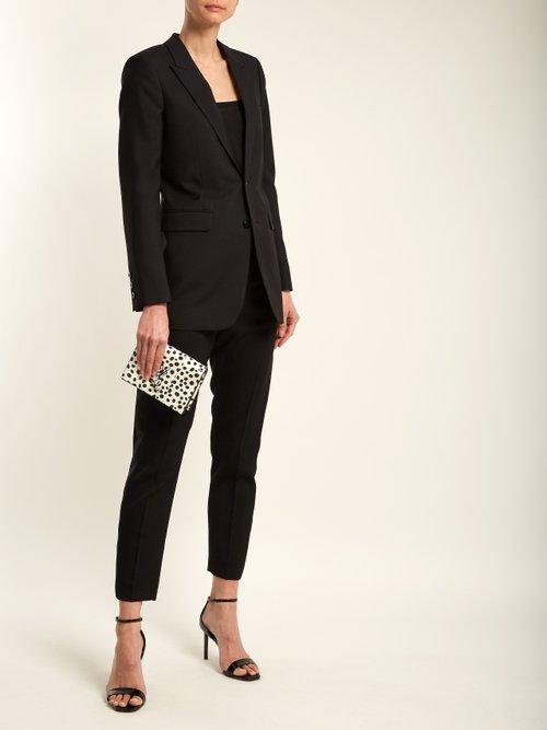 Kate polka-dot small snakeskin cross-body bag by Saint Laurent