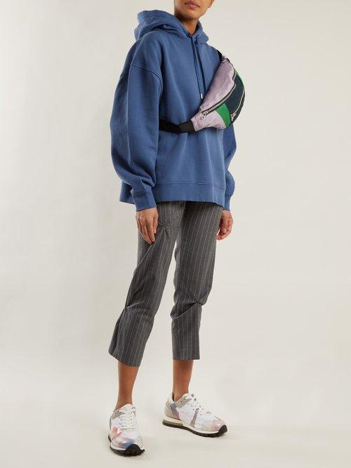 Yala cotton-jersey hooded sweatshirt by Acne Studios