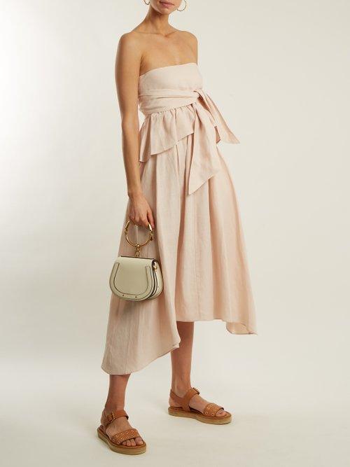 Twyla convertible linen-blend top by Apiece Apart