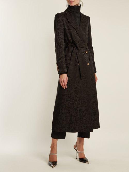 Tuiga Burnout Silk Coat by