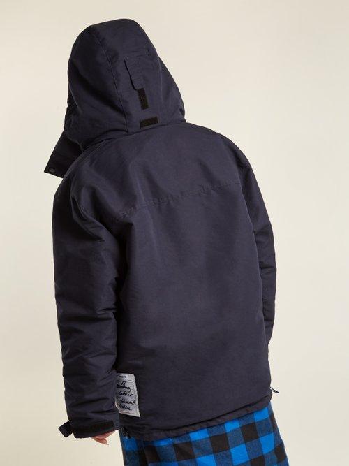 High-neck oversized jacket by Vetements