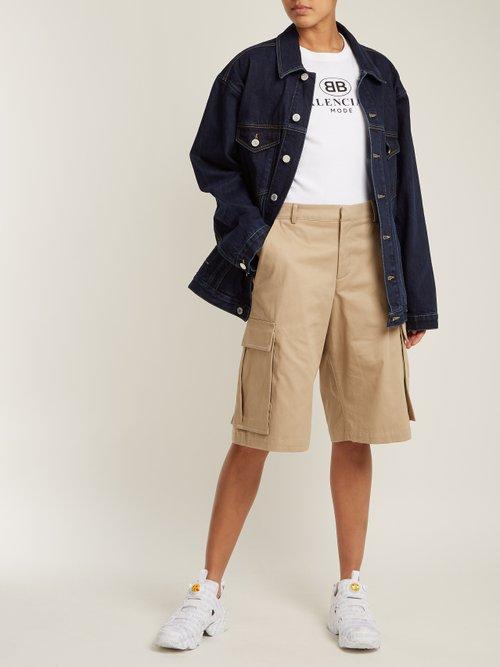 Oversized Denim Jacket by Martine Rose