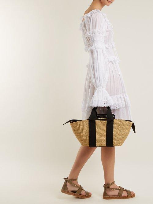 Denise stud-embellished leather sandals by Jimmy Choo