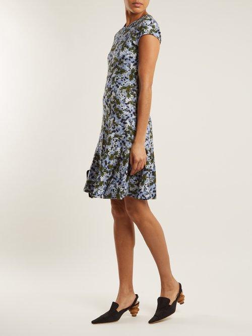 Darlina floral-print jersey dress by Erdem