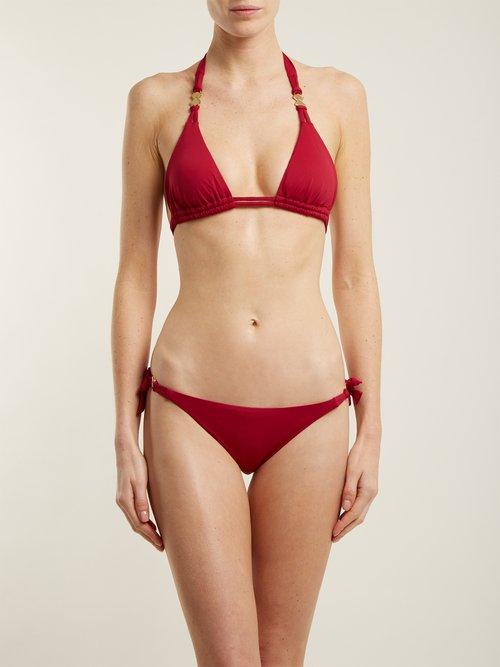 Riad triangle bikini top by Biondi