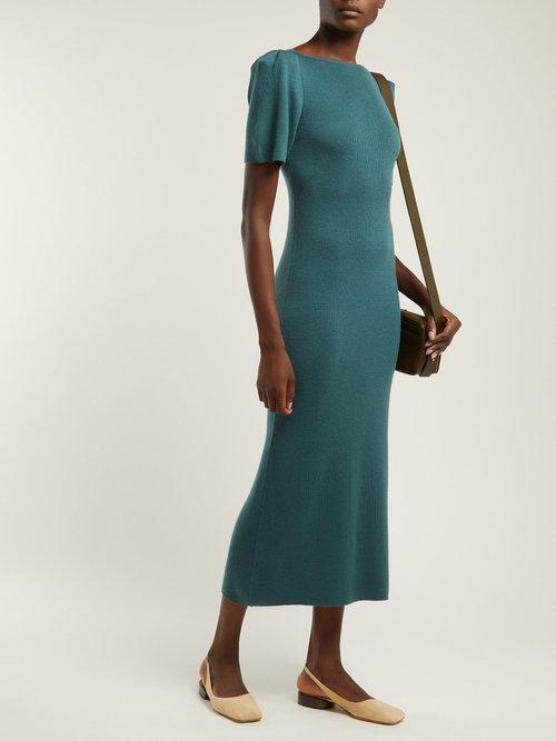 Cashmere Midi Dress by Ryan Roche