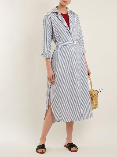 Shop Max Mara Beachwear Folgore shirtdress online sale