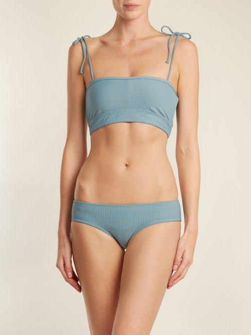 Arrow ribbed bikini briefs by Made By Dawn