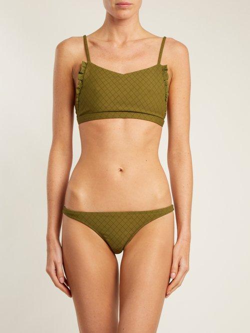 Petal low-rise bikini briefs by Made By Dawn