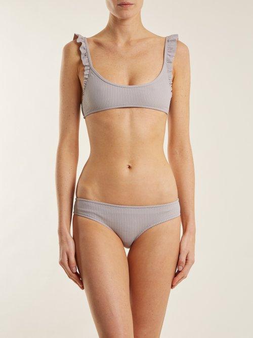 Photo of Petal bikini briefs by Made By Dawn - shop Made By Dawn swimwear sales
