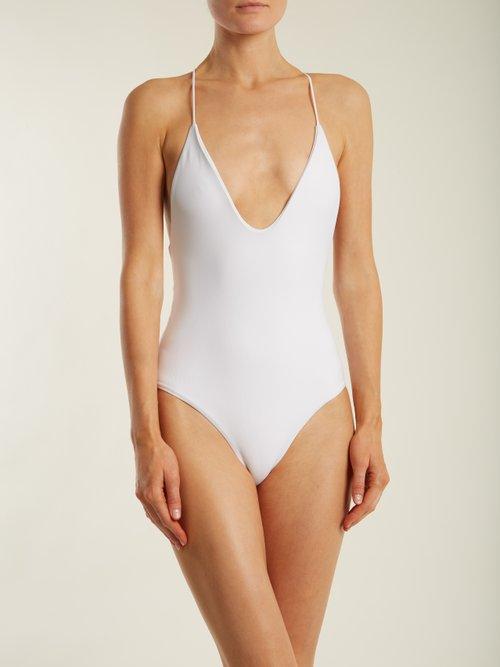All In One halterneck swimsuit by Jade Swim