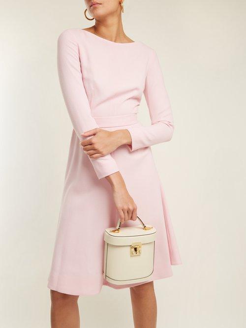 Kate A-line wool-crepe dress by Emilia Wickstead