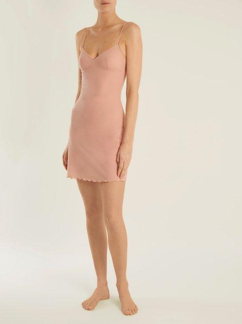 Smooth Tactel Slip Dress by Bodas