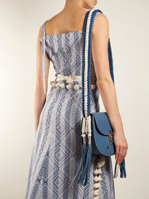 Ghianda braided cross-body bag by Altuzarra