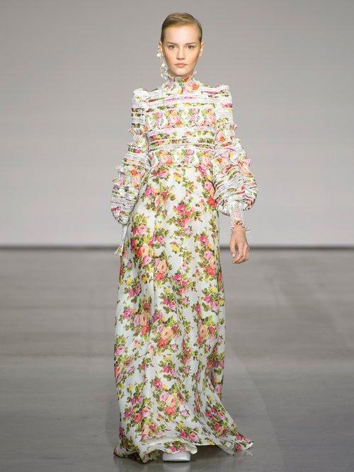 Radiate Smocked Dress by Zimmermann