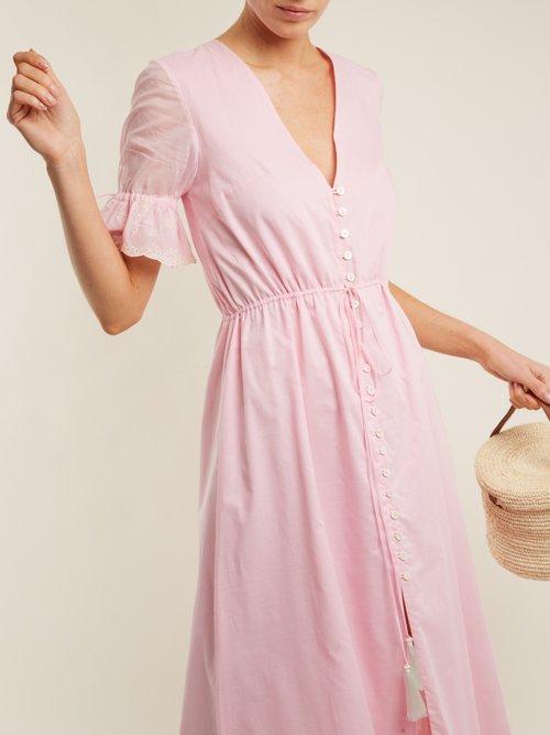 Julia button-front dress by Athena Procopiou