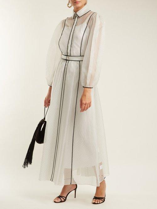 Virginia silk-blend organza dress by Emilia Wickstead