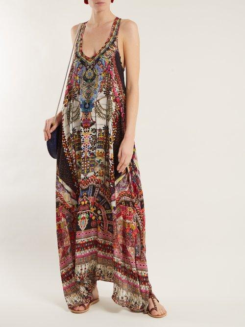 Tiny Dancer silk dress by Camilla