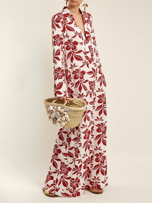 She Sells Sea Shells basket bag by Rebecca De Ravenel