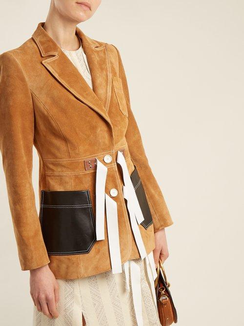 Bastille peak-lapel jacket by Altuzarra