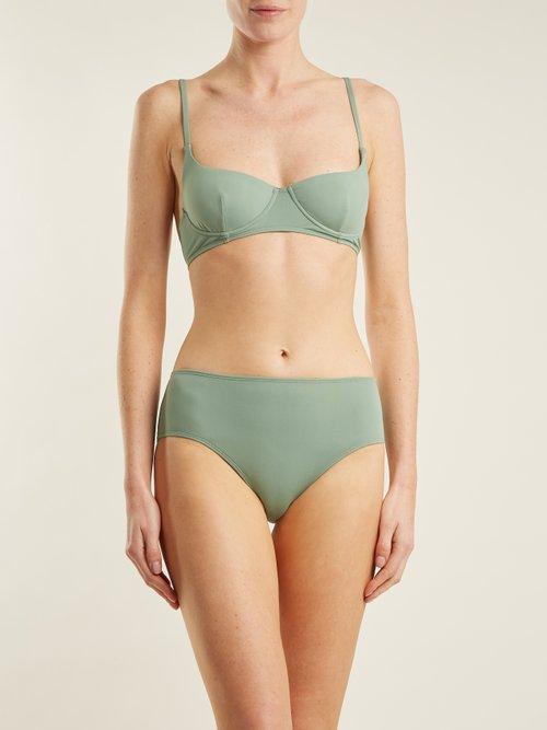 Charlotte balconette bikini top by Bower