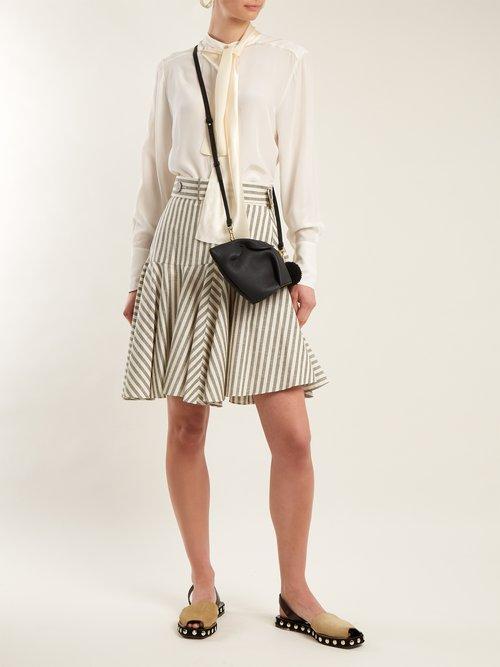 Bunny leather cross-body bag by Loewe