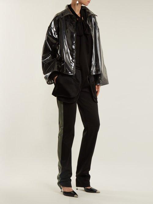 Translucent Zip Through Jacket by Valentino
