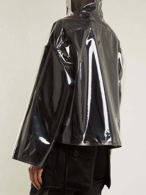 Translucent zip-through jacket by Valentino