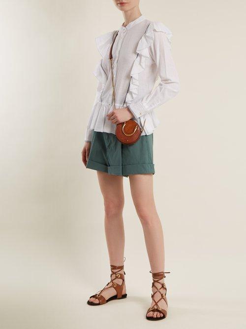 Vienna cotton-voile blouse by Sea