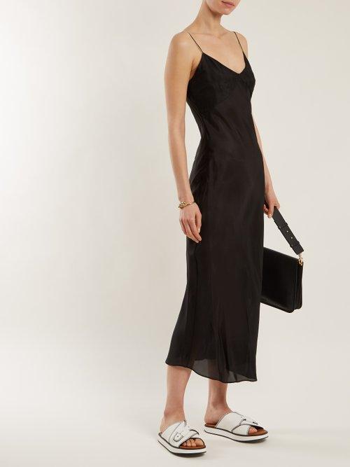 Sara Silk Slip Dress by Katharine Hamnett London