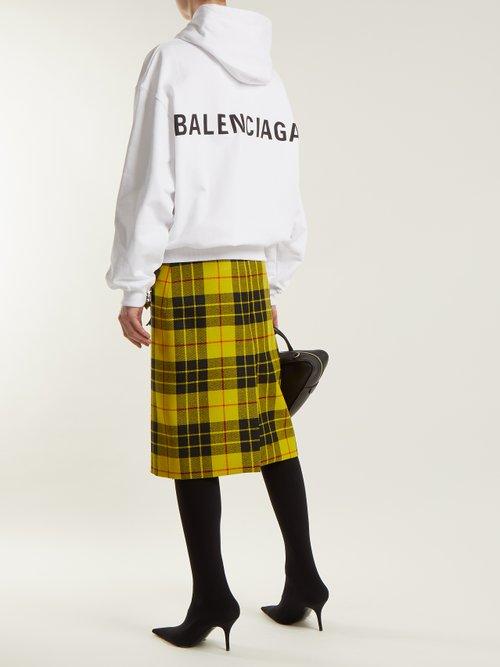 Cotton hooded sweatshirt by Balenciaga